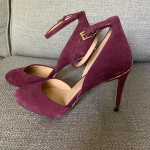 Micheal Kors velvet pumps